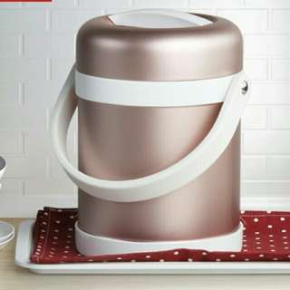 [BRAND NEW STAINLESS STEEL FOOD CONTAINER] ROSE GOLD