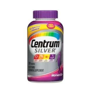 Centrum Silver Women 50+ Multivitamin Supplement,200 Tablets