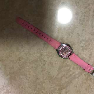 Casio watch pink digital