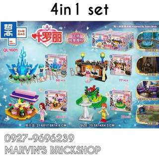 For Sale Enchanted Girls 4in1 Building Blocks Toy