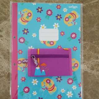 Smiggle Wallet and Notebook