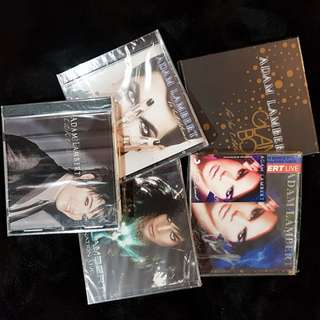 $10 Adam Lambert CD's Grab Bag