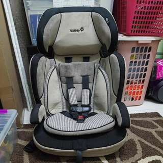 Safety 1st toddler carseat isofix