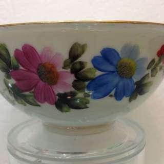 Porcelain-花卉碗 D12.5cm