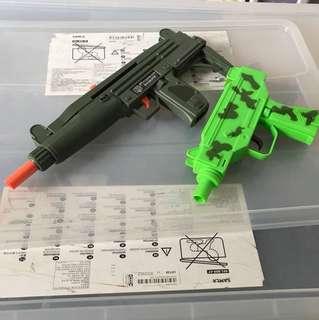 Toy Gun uzi 2 pcs