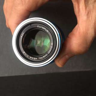 (BN) Olympus Lens 45mm 1: 1.8 M43
