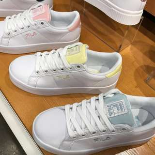 New! FILA Korea shoes -- closing order / pastel pink / yellow / blue
