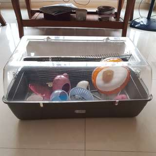 Big hamster cage 70cm with all accessories
