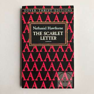 [Rare Cover] The Scarlet Letter - Nathaniel Hawthorne