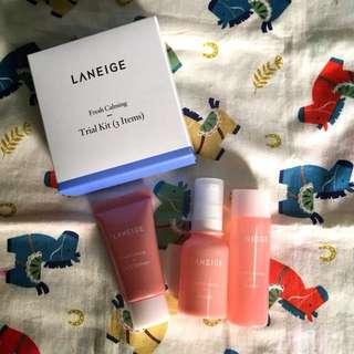Laneige Fresh Calming Trial Kit