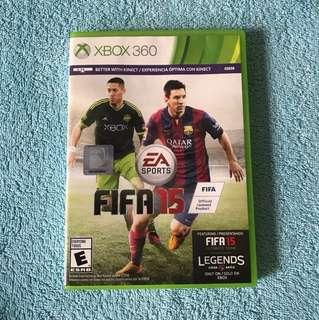 Xbox 360 Fifa 15 Video Game