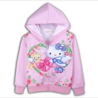 PO Hello Kitty Jackets Brand New Size 100-140cm