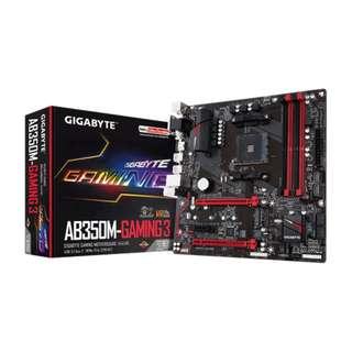 Gigabyte GA-AB350M-Gaming 3