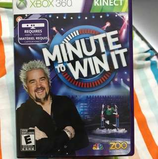 Xbox 360 kinect minute to win it