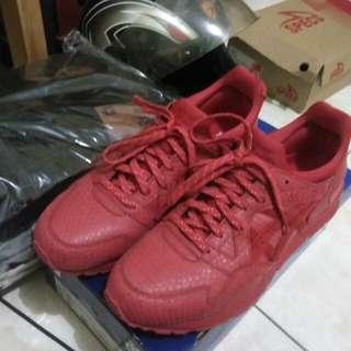 Asics gel lyte V red mamba pack original not nike adidas