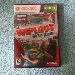 Xbox 360 Kinect Wipeout In The Zone Video Game