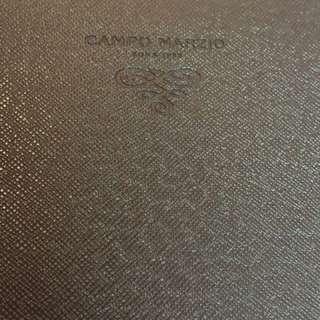 Leather Campo Marzio NotePad (Orange)