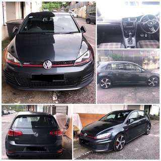 SAMBUNG BAYAR/CONTINUE LOAN  VW GOLF MK7 2.0 GTI YEAR 2014 MONTHLY RM 2200 BALANCE 5 YEARS ROADTAX JAN 2019 TIPTOP CONDITION  DP KLIK wasap.my/60133524312/mk7