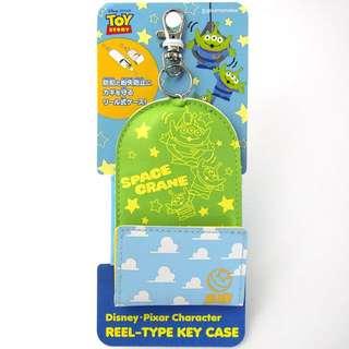 日本代購 toystory 三眼仔 鎖匙包