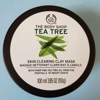 (UPDATED) The Body Shop Tea Tree Clay Mask