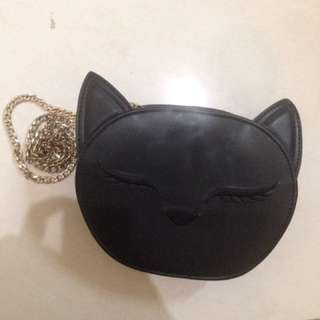 Cat slingbag