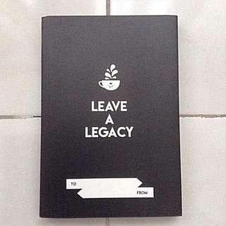 Coffee Bean and Tea Leaf 2018 Journal