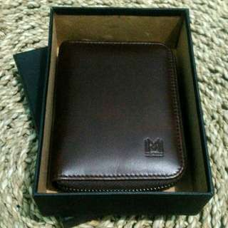 Katara Leather Zip Wallet