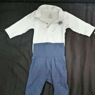 H&M terno baby clothes