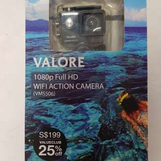 Valore 1080p Full HD WIFI Action Camera (VMS506)