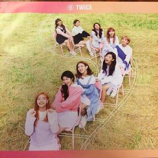 Official Twice Twicecoaster Poster