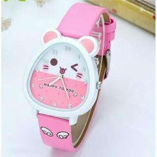Jam tangan anak perempuan anti air