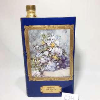 (C245) CAMUS Special Reserve Irises Van Gogh 卡慕甘武士 梵谷禮盒 金花 瓷書 干邑 無盒 700ml