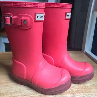 Preloved Hunter Boots for Kids