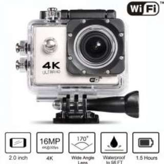 4K Ultra HD Action Camera WIFI Silver