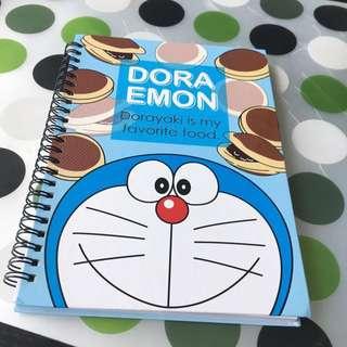 Doraemon Notebook - Dorayaki (铜锣烧)design