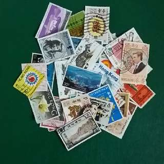 香港郵票 HONG KONG STAMP X 50