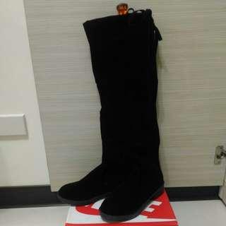 🚚 絨布 長馬靴24