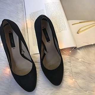 Zara heeled shoes