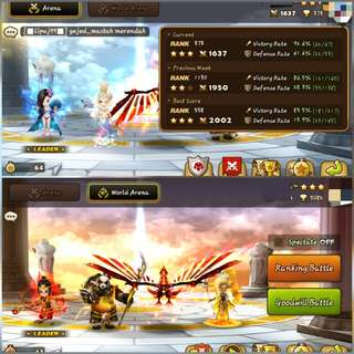 WTT SUMMONERS WAR ASIA