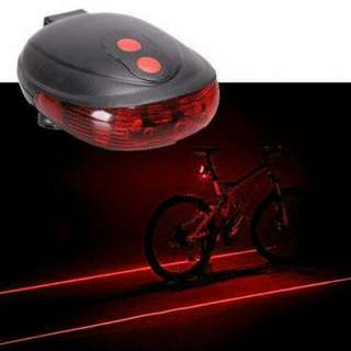 Bicycle Laser Tail Lights