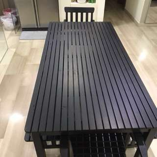 Ikea Outdoor Table (2 chairs if you want them)