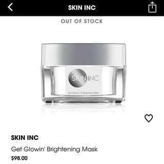 Skininc Brightening Mask