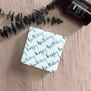 Wrapping papers - Happy Birthday