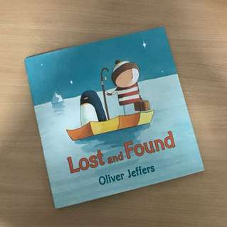 🚚 Lost and Found by Oliver Jeffers (Hardback)