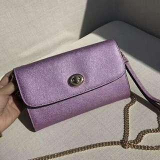 Authentic Coach women Handbag sling bag crossbody bag