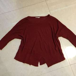 Baleno Red Knit Sweater