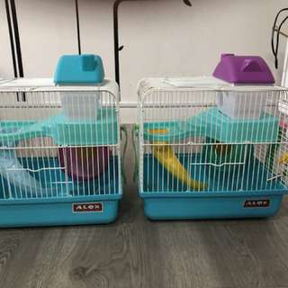 Hamster cage x 2