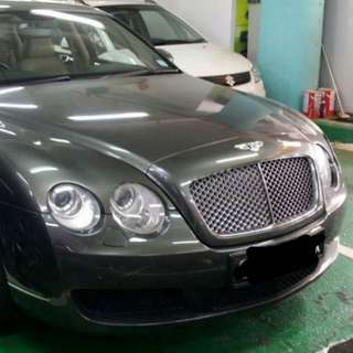 Bently Conti FS 6.0 litres V12 engine