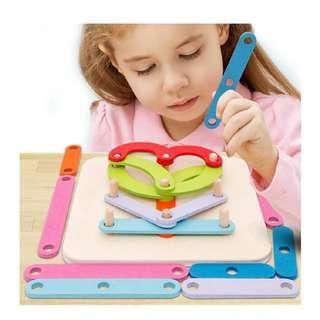 (PO) Wooden Alphanumeric Sorter Montessori