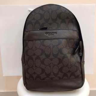 Authentic Coach men sling bag shoulder bag